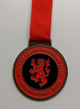 70mm Medal with Enamel